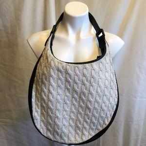 Longchamp Knit Shoulder Tote Bag Vintage